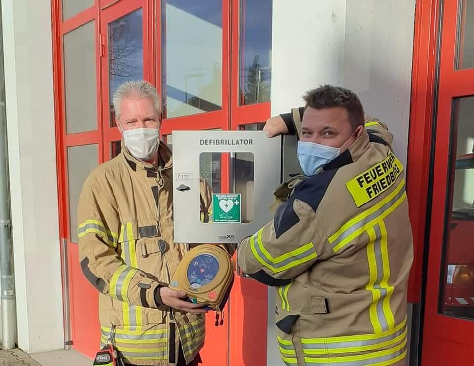Neuer Defibrillator